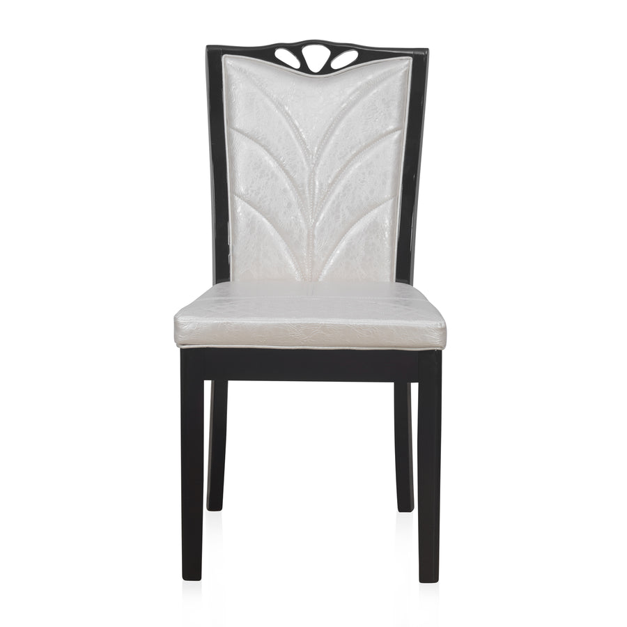 Nilkamal Jeffrey Solid Wood Dining Chair - Walnut