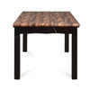 Nilkamal Jeffrey Solid Wood 6 Seater Dining Table (Walnut)