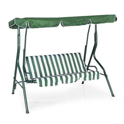 Nilkamal Leisure 3 Seater Garden Swing (Green)