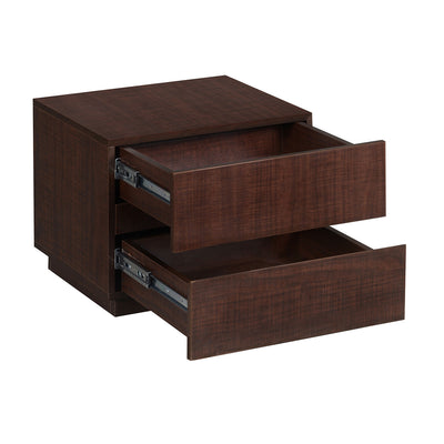 Nilkamal Indore Side Table (Brown Maple)
