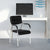 Nilkamal Indus Visitor Chair (Black)