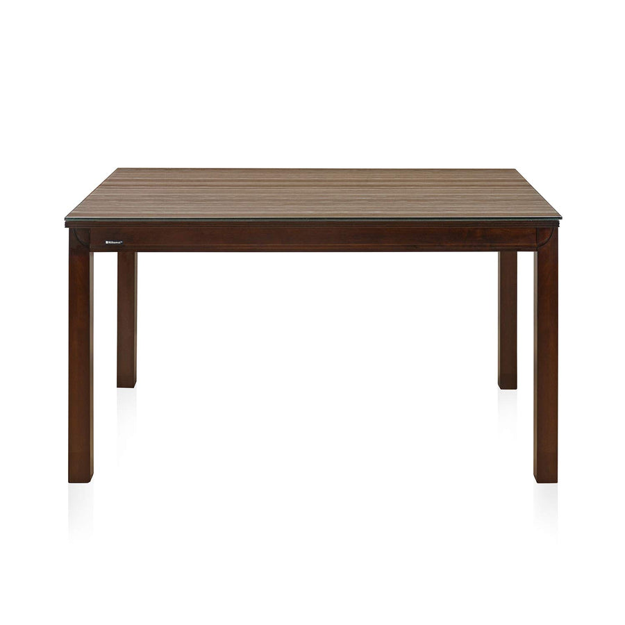 Nilkamal Quentin 4 Seater Dining Table (Mohca)