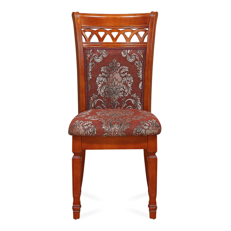 Nilkamal Saphire Dining Chair (Chestnut)