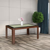 Nilkamal Wesley 6 Seater Dining Table (Expresso)