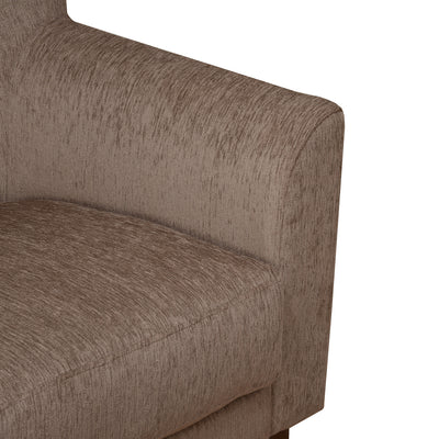 Nilkamal Jamaica 1 Seater Sofa (Brown)