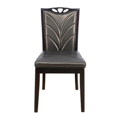 Nilkamal Jeffrey Dining Chair (Walnut)