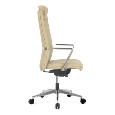 Nilkamal Jiffy High Back Chair (Cream)