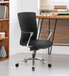 Nilkamal Jiffy Mid Back Chair (Black)