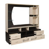 Nilkamal Kayla Wall Unit (Wenge/Oak)