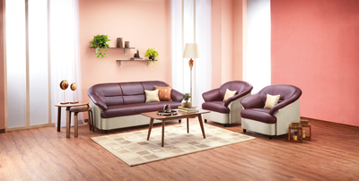 Nilkamal Knight 3 Seater Sofa