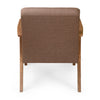 Nilkamal Layla 1 Seater Sofa Light - Walnut