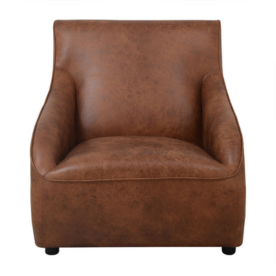 Nilkamal Beirut Lounge Chair (Brown)