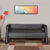 Nilkamal Bradd 3 Seater Sofa (Black)