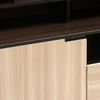 Nilkamal Cyndy Wall Unit (Wenge/Oak)