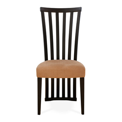 Nilkamal Lerro Dining Chair (Dark Walnut)