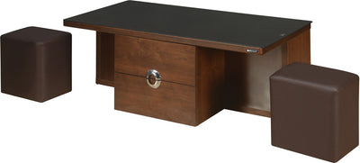 Nilkamal Gavin Center Table (Walnut)