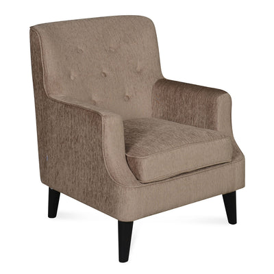 Nilkamal Newyork Lounge Chair (Brown)