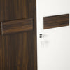 Nilkamal Lodgy New 2 Door Wardrobe - Brown