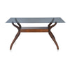 Nilkamal Lopez 6 Seater Dining Table (Walnut)