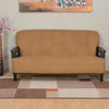 Nilkamal Lords 3 Seater Sofa Fabric Walnut/Brown