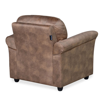 Nilkamal Tigor 1 Seater Sofa (Brown)