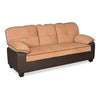 Nilkamal Trafford 3 Seater Fabric Sofa (Brown)