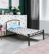 Nilkamal Lucas Single Bed - Black