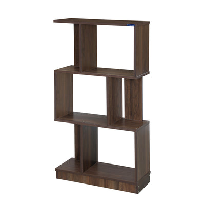 Nilkamal Marco 3 Tier Book Shelf (Walnut)