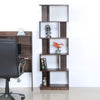 Nilkamal Marco 5 Tier Book Shelf (Walnut)