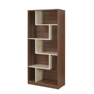 Nilkamal Maxi Bookcase Brown / White