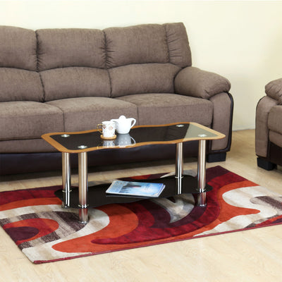 Nilkamal Medora Center Table (Black)