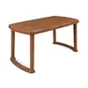 Nilkamal Mega Dining Table (Pear Wood)