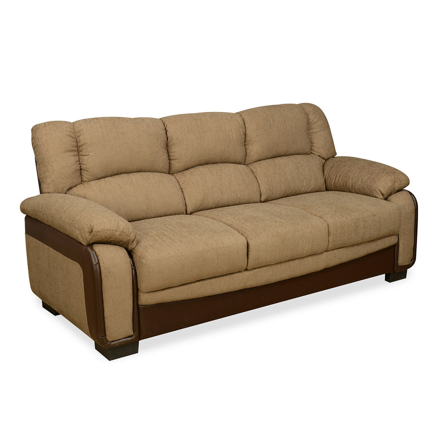 Nilkamal Mimosa 3 Seater Sofa (Brown)
