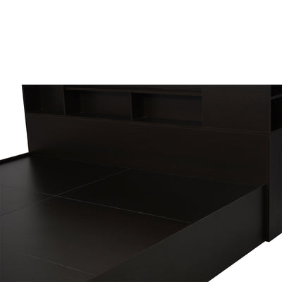 Nilkamal Mozart King Bed (Wenge)