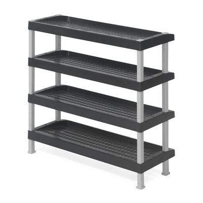 Nilkamal Multirack 04 (Charcoal Grey/Granite Black)