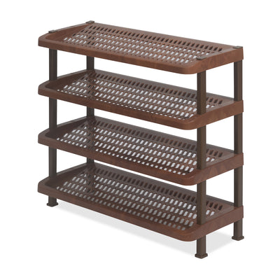 Nilkamal Multirack 04 (Mangowood/Dark Brown)