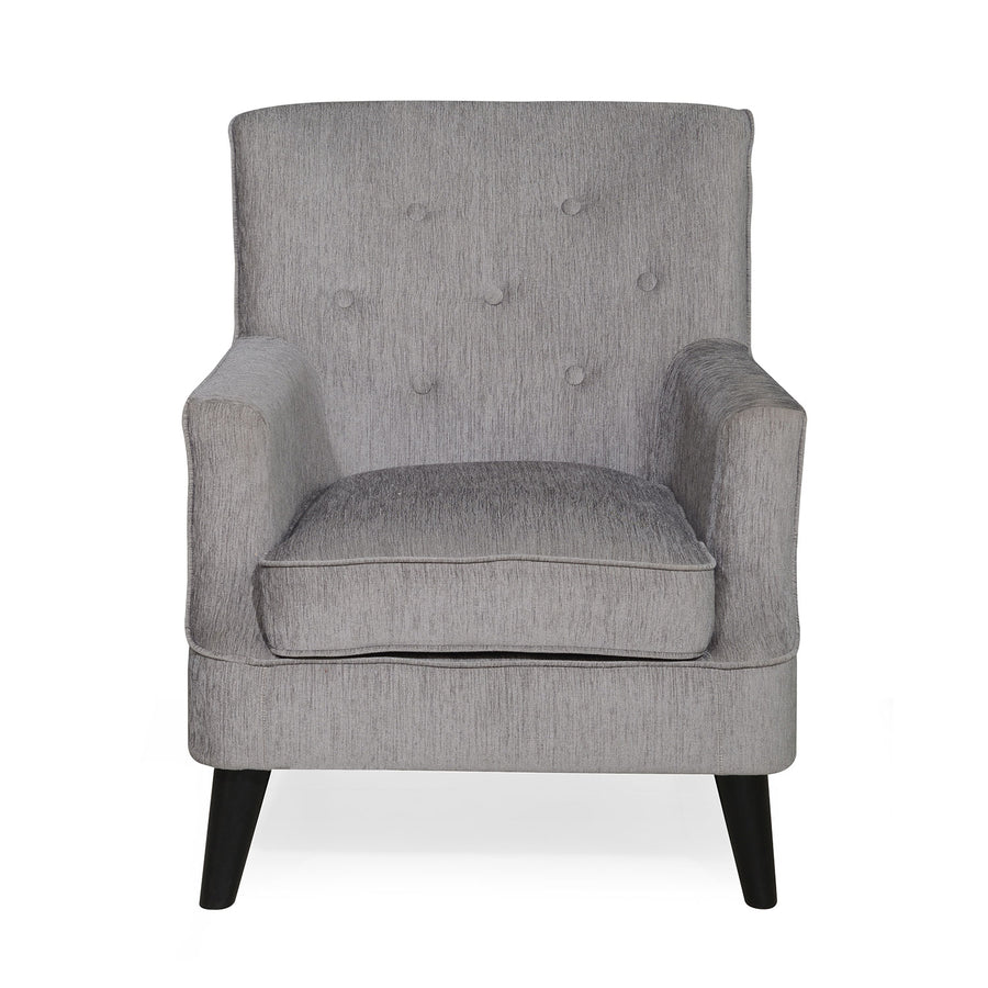 Nilkamal Newyork Lounge Chair (Grey)
