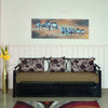Nilkamal New Flint Metal Sofa Cumbed Wstrge Black