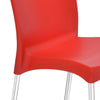 Nilkamal Novella 07 Chair (Bright Red)