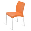 Nilkamal Novella 07 Chair (Orange)