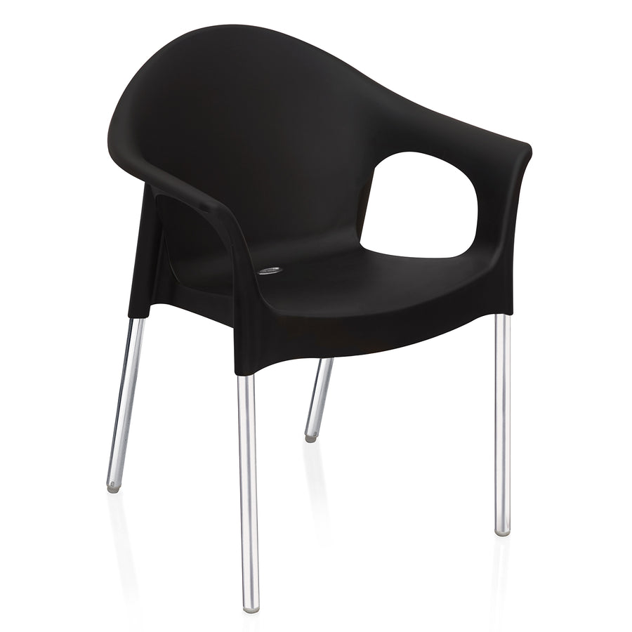 Nilkamal Novella 09 Chair (Iron Black)
