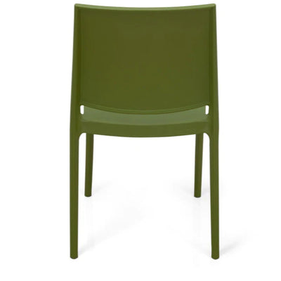 Nilkamal Novella 08 Plastic Chair (Soft Green)