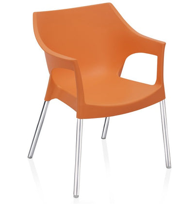 Nilkamal Novella 10 Chair (Orange)