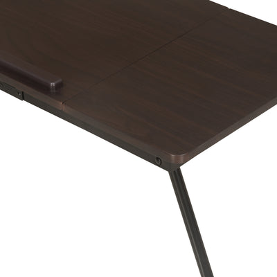 Nilkamal Inspiron Portable Laptop Table (Walnut)