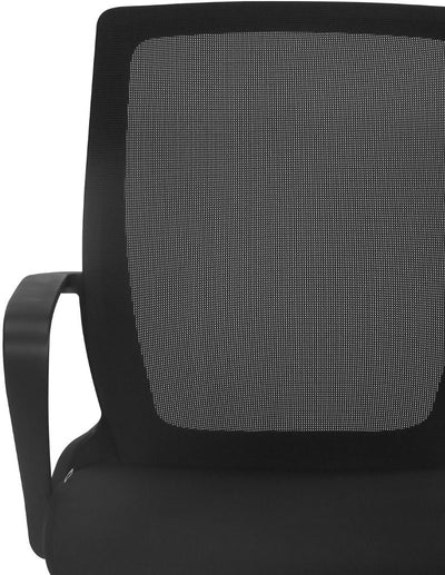 Nilkamal Scoop Mid Back Office Chair (Black)