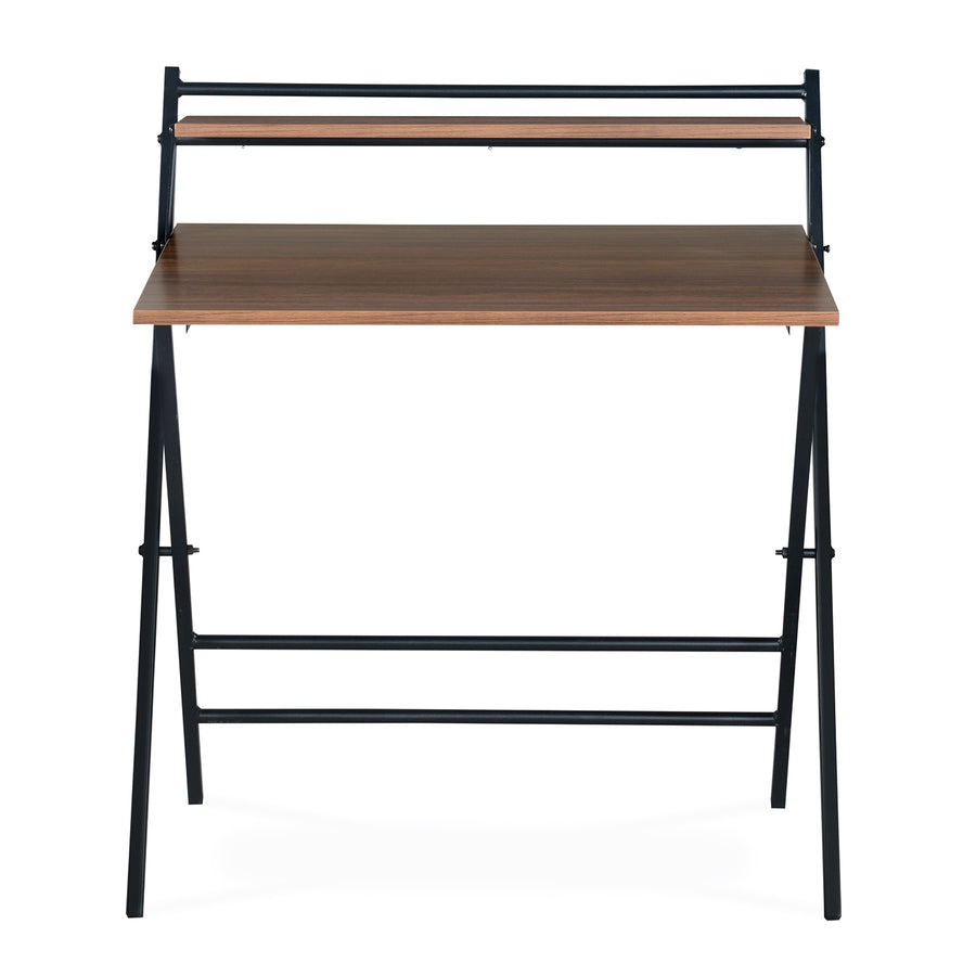 Nilkamal Optimal Folding Study Table (Walnut)