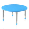 Nilkamal Orange Danube Blue Activity Desk (Circle)