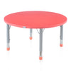Nilkamal Orange Poppy Red Activity Desk (Circle)