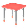 Nilkamal Orange Poppy Red Activity Desk (Square)