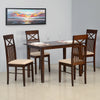 Nilkamal Paula 4 Seater Dining Table Set